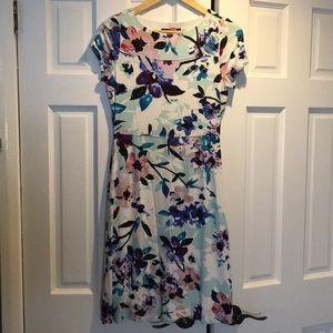 Ivanka Trump Floral Knee-Length Dress Size S